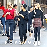 Reese Witherspoon Grabs Lunch With Her Daughter Ava and Big Little Lies Costar Zoë Kravitz