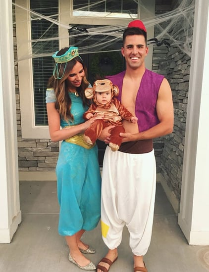 Halloween Costumes For Couples And Baby.Family Of 3 Halloween Costumes Popsugar Family