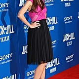 Katie Holmes incited a flurry of camera flashes at the LA premiere of Jack and Jill.