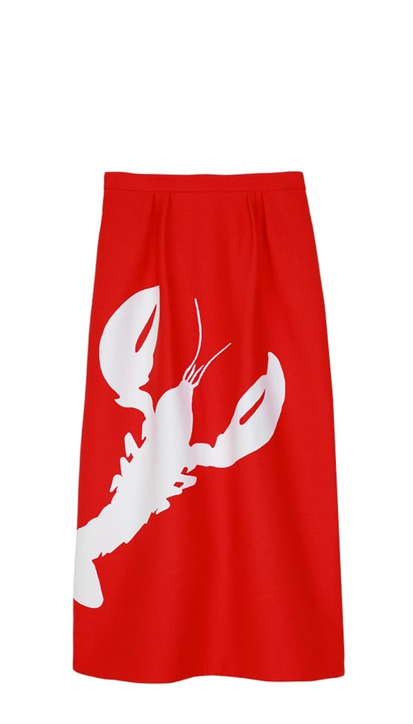 I'm fighting the late Winter blahs with a witty and whimsical skirt from Tibi! The Lobster Silhouette Skirt ($335) calls to mind not only Elsa Schiaparelli's famous surrealist designs, but also the Summer weather I am desperately craving. Perfect now with a sweater, perfect later with a t-shirt.  — Melissa Liebling-Goldberg, fashion and beauty director