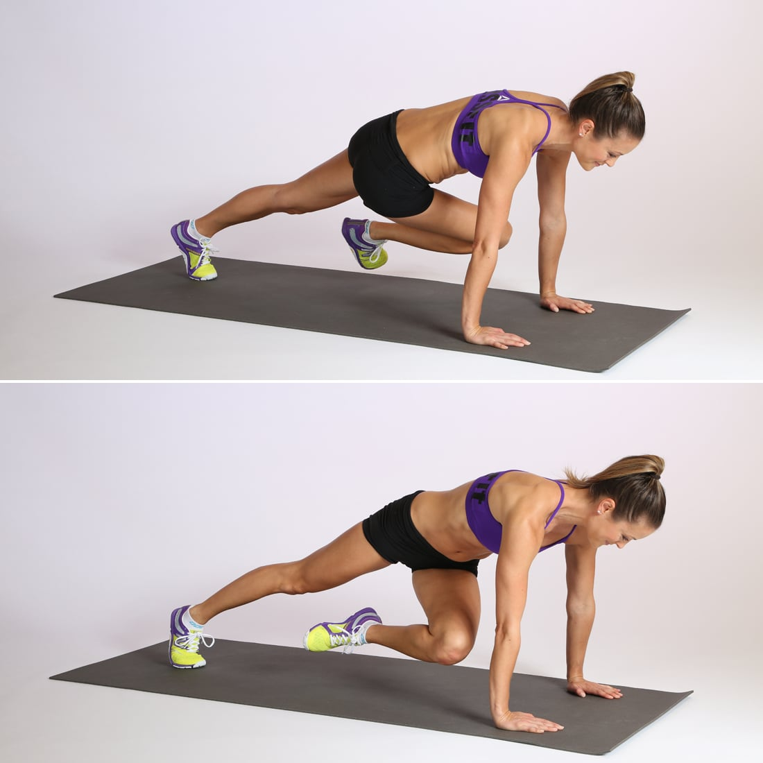 Circuit Two: Twisted Mountain Climber — 20 Reps, Alternating