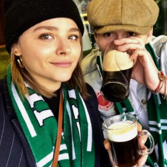 Chloe Grace Moretz and Brooklyn Beckham Kissing in Dublin