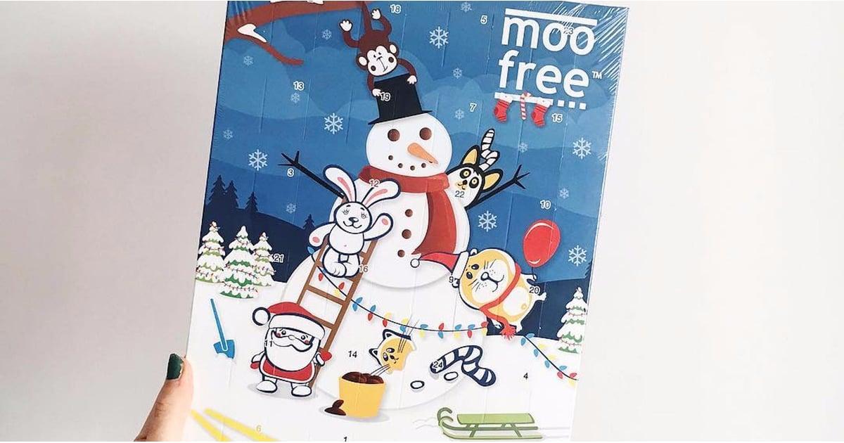 vegan chocolate advent calendar from moo free
