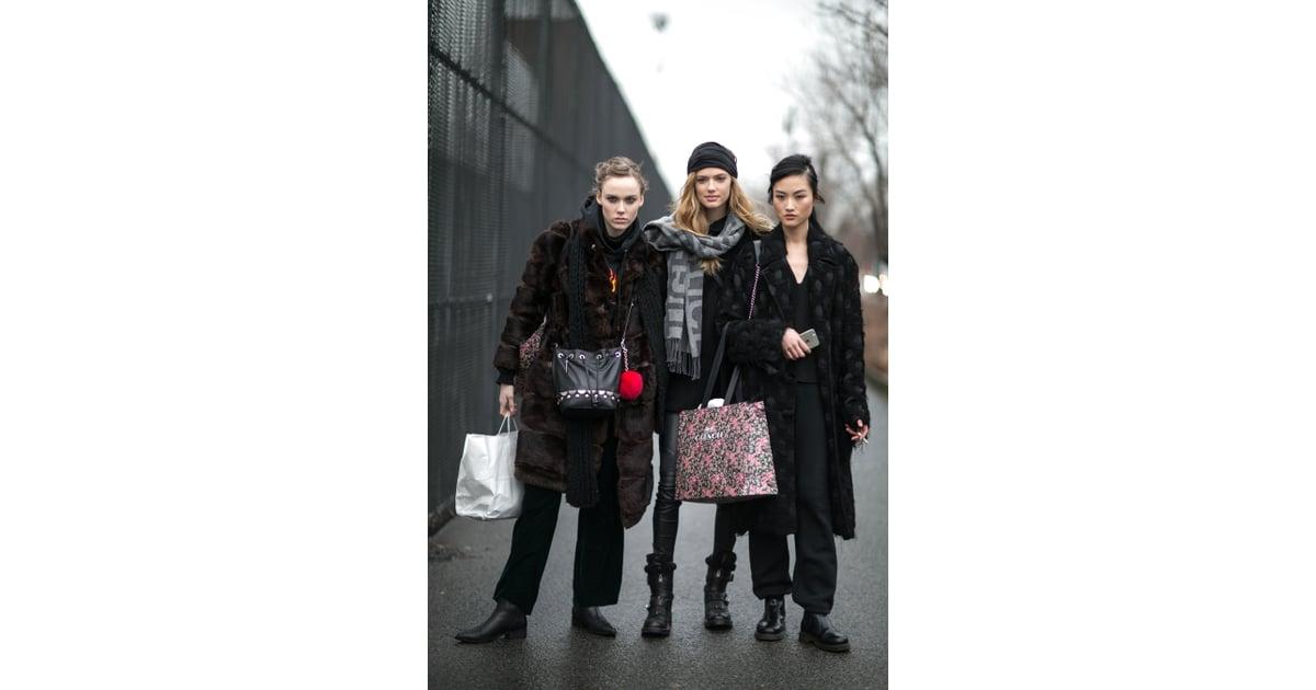 New York Fashion Week Model Street Style At Fashion Week Fall 2016 Popsugar Fashion Photo 206