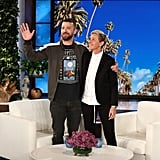 "After Justin appeared on Ellen's show in May 2018, she shared a picture of the pair on Instagram, writing, ""I [heart] JT. So much."""