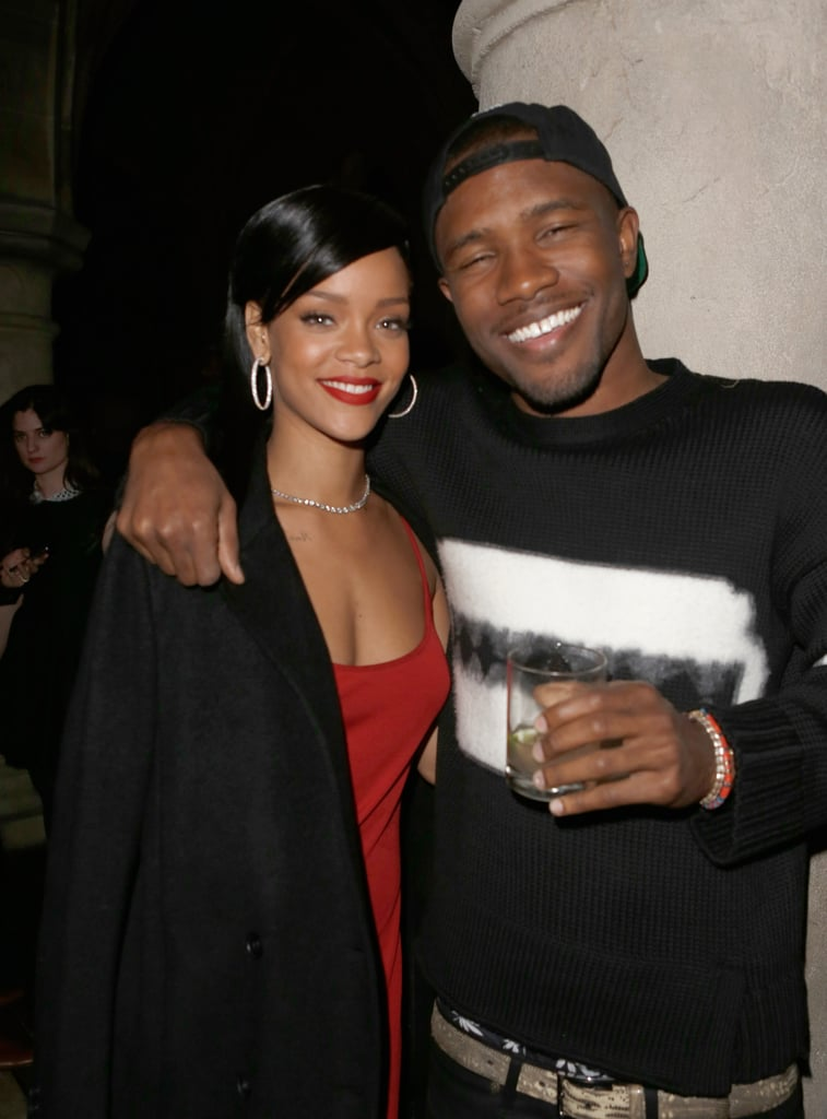 Rihanna got together with Frank Ocean.