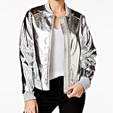 Guess Brock Metallic Bomber Jacket ($98)