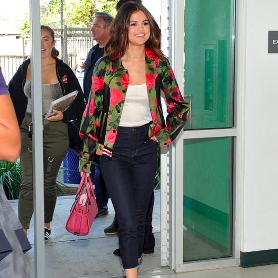 Selena Gomez Coach Jackets in LA March 2017