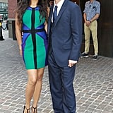 Matthew McConaughey and Camila Alves were together for a screening of Killer Joe in NYC.