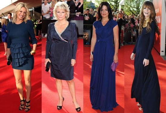 Photos of 2009 BAFTA TV Awards Women Red Carpet Michelle Ryan, Louise Redknapp, Tess Daly, Davina McCall, Mischa Barton