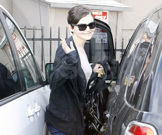 Slide Photo of Ginnifer Goodwin in LA