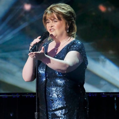 Susan Boyle Performing on America's Got Talent Video 2019