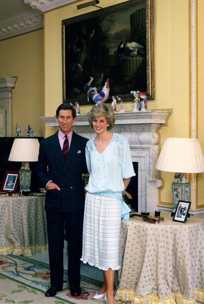Princess Diana 39 S Kensington Palace Apartments Popsugar