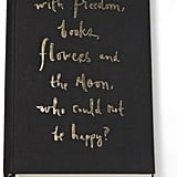 Kate Spade Freedom, Flowers & The Moon Journal ($24)