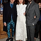 Henry Holland, Alexa Chung, and Jack Guinness feted the British Fashion Award nominees at a dinner in London.