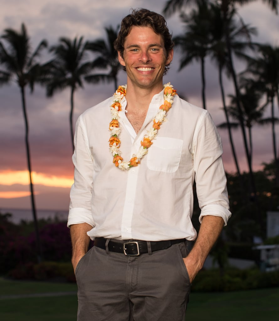 Hottie James Marsden attended the Maui Film Festival on June 16.