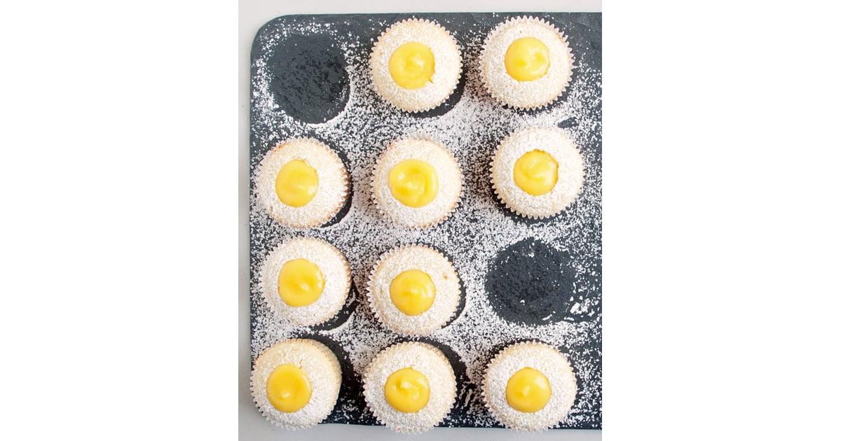 Lemon Pound Cake Cupcakes With Lemon Curd Filling ...