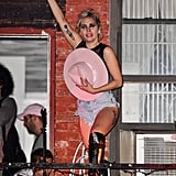 Lady Gaga's Concert at the Bitter End Bar in NYC 2016