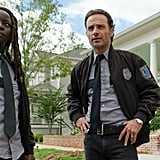 Rick and Michonne From The Walking Dead