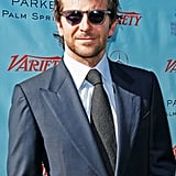 Bradley Cooper sported shades.