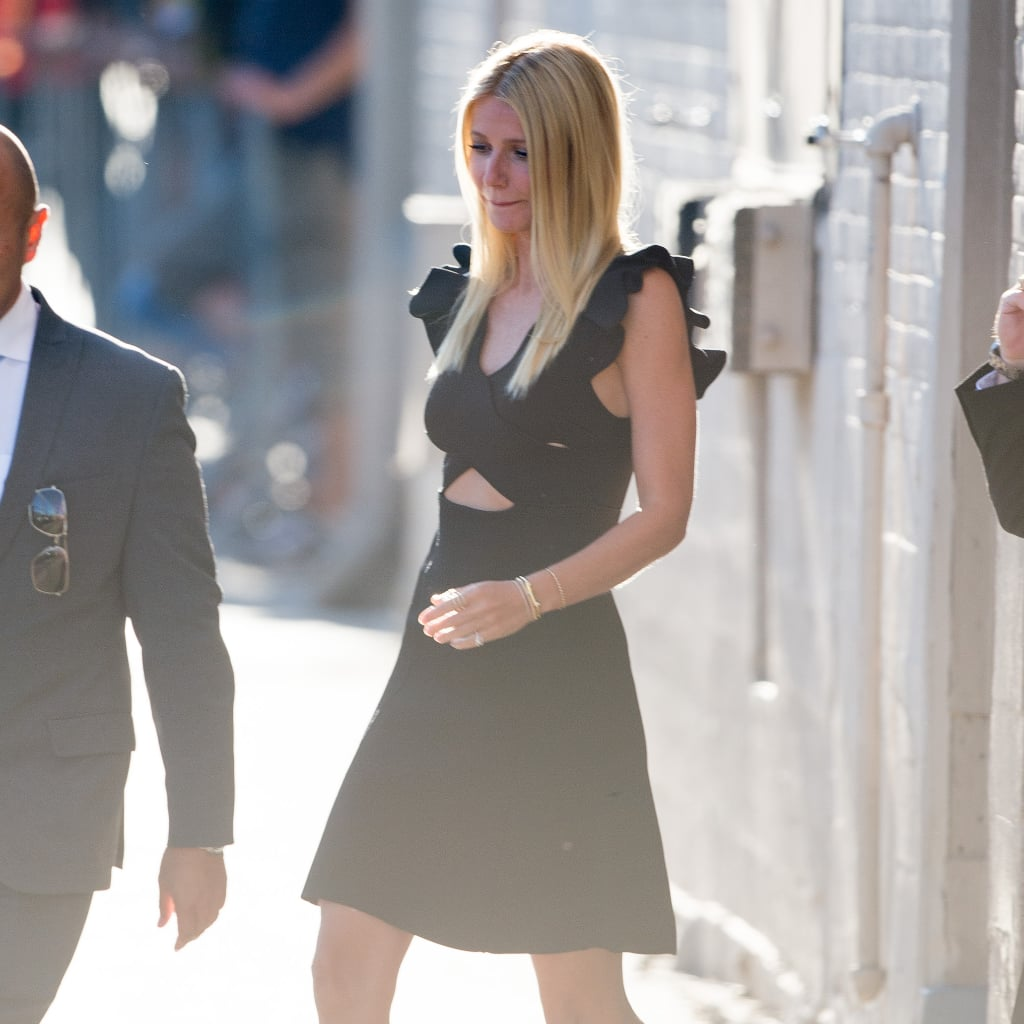 Gwyneth Paltrow Shows Us the LBD Our Wardrobe's Missing
