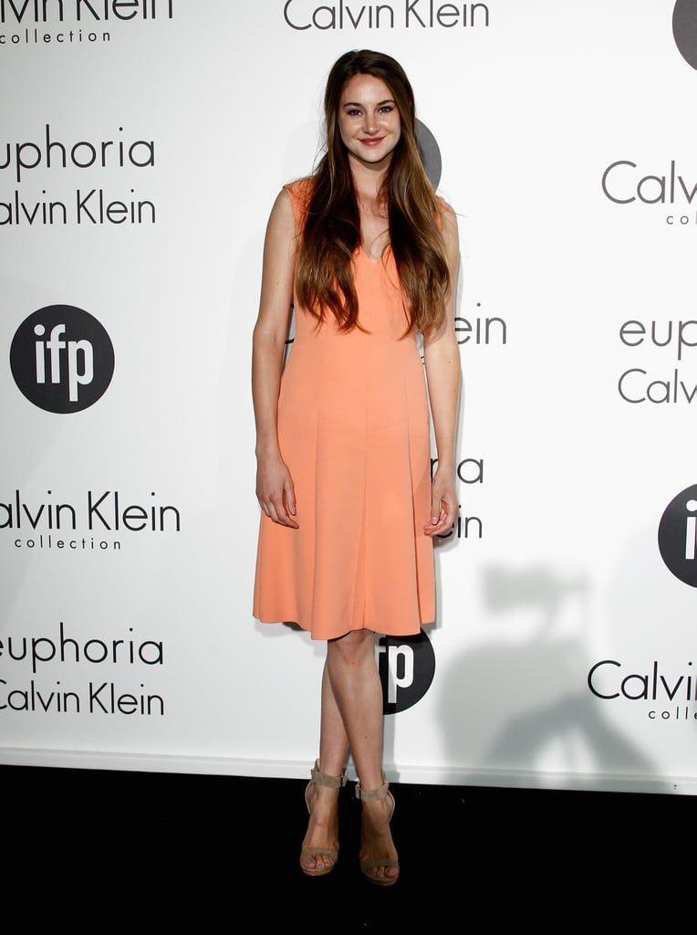 Shailene Woodley in Calvin Klein at the 2012 Cannes Film Festival