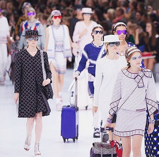 Chanel Airlines Show Spring 2016