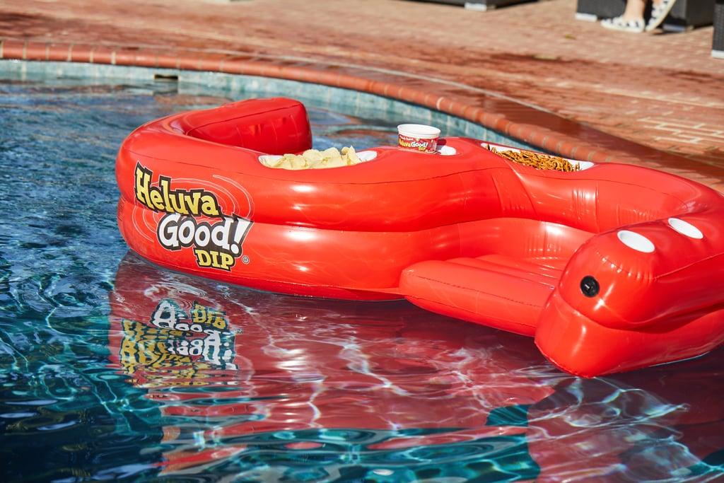 Heluva Good Snack Pool Float