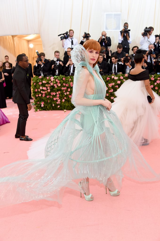 Madelaine Petsch's Bangs at the 2019 Met Gala