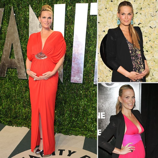 15 Insanely Chic Maternity Styles From Molly Sims