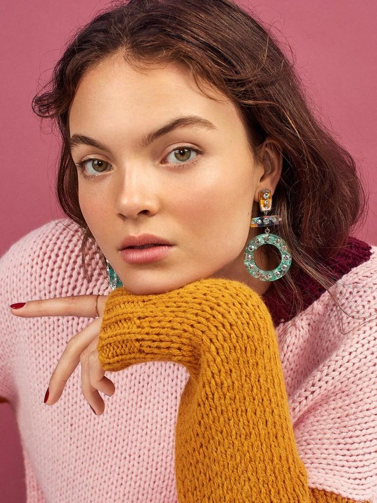BaubleBar Femme Resin Drop Earrings