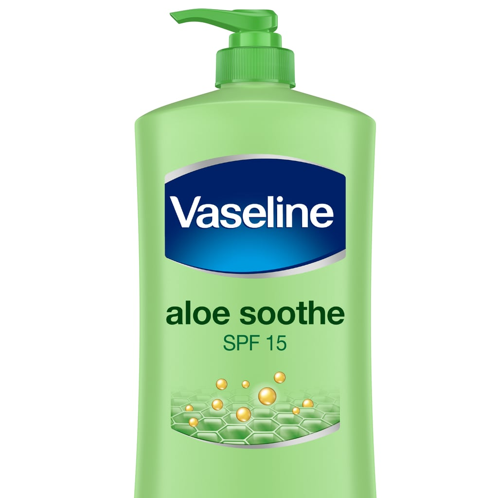 Some would say I'm a low-key aloe fanatic — I try to incorporate it into my routine whenever I can. For one, I drink it every morning to help with my digestion and clear my skin. In terms of moisturisers, I always look out for the addition of aloe, as it adds an extra soothing effect on dry skin. Aloe is also highly anti-inflammatory, meaning it's incredible for soothing rashes and irritations. And all from a plant? We subscribe. Vaseline Intensive Care Body Lotion Aloe Soothe ($7.79)
