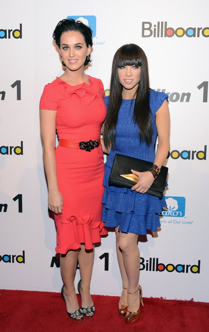 Katy Perry and Carly Rae Jepsen were both honored at  Billboard's Women in Music event in NYC.