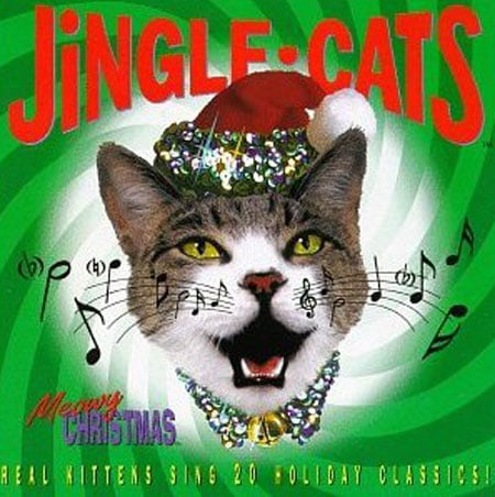 Meowy Christmas, Jingle Cats ($9)