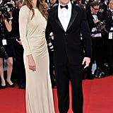 Chris Pine and his model date Dominique Piek attended the Moonrise Kingdom premiere.