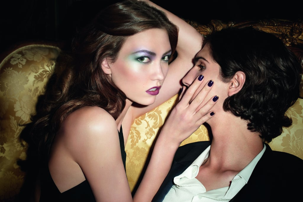 YSL Rock & Baroque Fall 2010 Makeup Look Book with Karlie Kloss