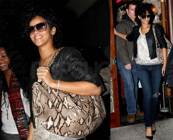 Photos of Rihanna in NYC Before Small Fender Bender