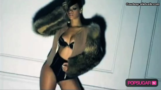 Video of Rihanna in Her Underwear