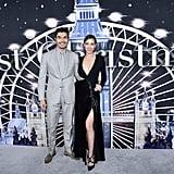 Henry Golding and Liv Lo at the Last Christmas Premiere