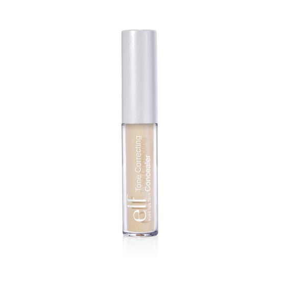 Elf Tone Correcting Concealer ($1) not only masks imperfections but also helps even out your skin tone.