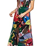 CeCe Jungle Splendor Off the Shoulder Dress