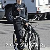 Selena Gomez Wears Sub Urban Riot Homebody Sweatshirt