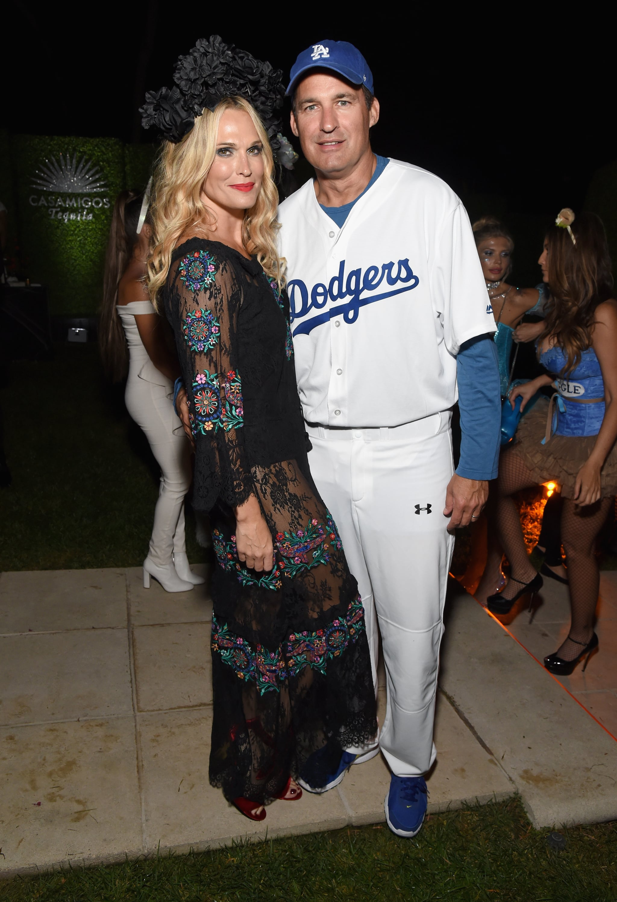 Molly Simms and Scott Stuber as a Dodgers Player | All the