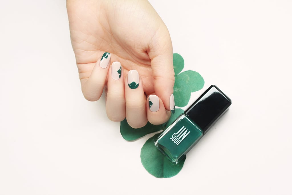 Pretty St Patricks Day Nail Art Diy Popsugar Beauty Australia