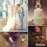 Desert Oasis: Palm Springs Wedding Inspiration  Filled with glamorous resorts, Old Hollywood history, and beautiful desert backdrops, Palm Springs is a go-to wedding destination for West Coast couples. We're highlighting some of the most standout wedding inspiration from the desert hot spot. Retro styling, vintage accents, old-school glam — these brides brought a variety of styles to the sunny city. Take a look at these 37 fresh, creative wedding ideas as inspiration for your own big day!