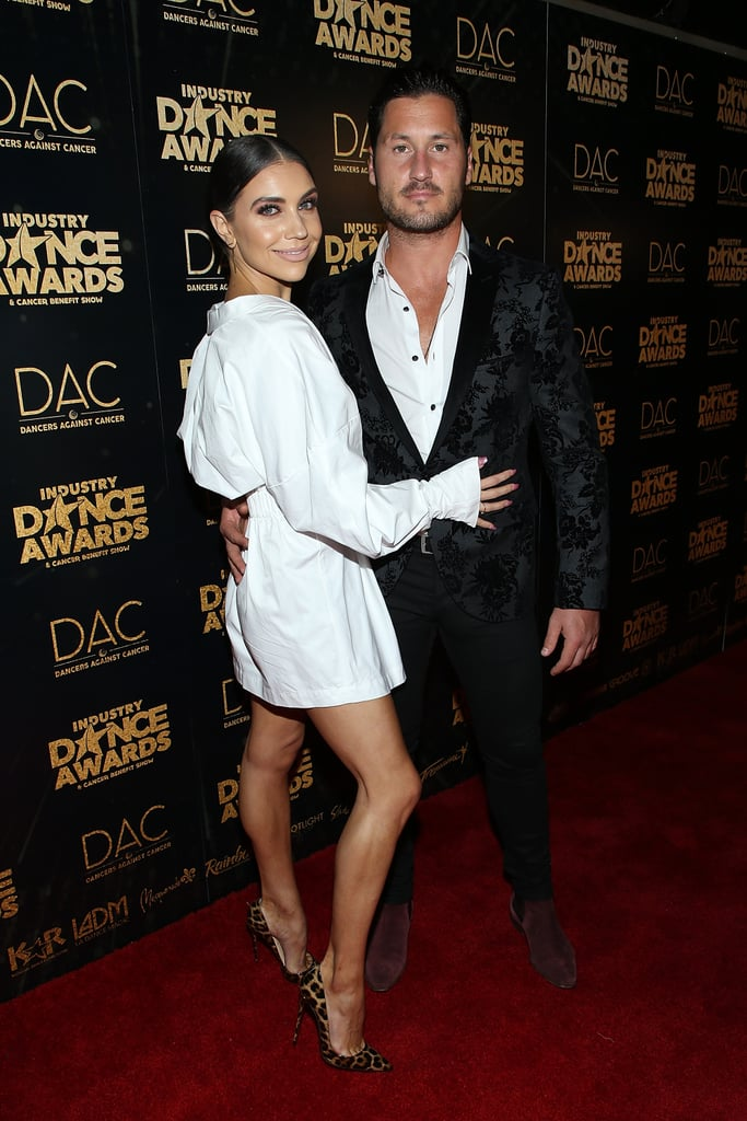 Dancing With the Stars has brought together some of our favorite couples, and Val Chmerkovskiy and Jenna Johnson are no different. The two first met on the dancing competition in 2014 and began quietly dating a year later. Though they briefly split sometime after, they eventually got back together in Summer 2017 and have been going strong ever since.  In June 2018, the pair got engaged during a romantic trip to Venice, Italy, and they eventually tied the knot in April 2019. From their adorable social media posts to their red carpet appearances, it's clear these two are head over heels for each other. See some of their best couple moments ahead.
