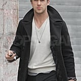 Ryan Gosling Isn't the Lone Ranger, but He Does Shop Solo