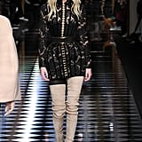 In Paris, Kendall Worked It on the Balmain Catwalk