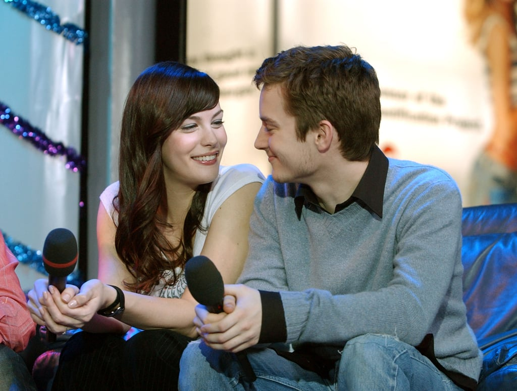 Lord of the RIngs castmates Liv Tyler and Elijah Wood shared a sweet moment on TRL in 2001.