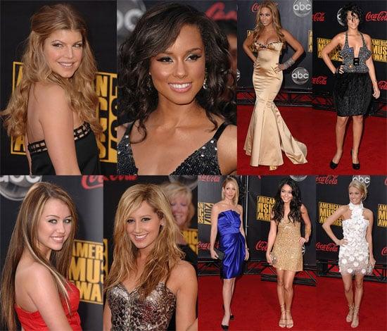 American Music Awards Red Carpet 2007